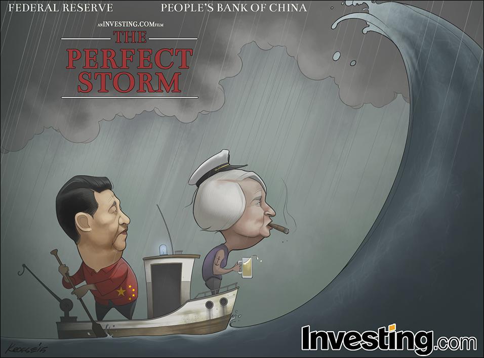 Κίνα, Fed συνεισφέρουν στην αστάθεια.
