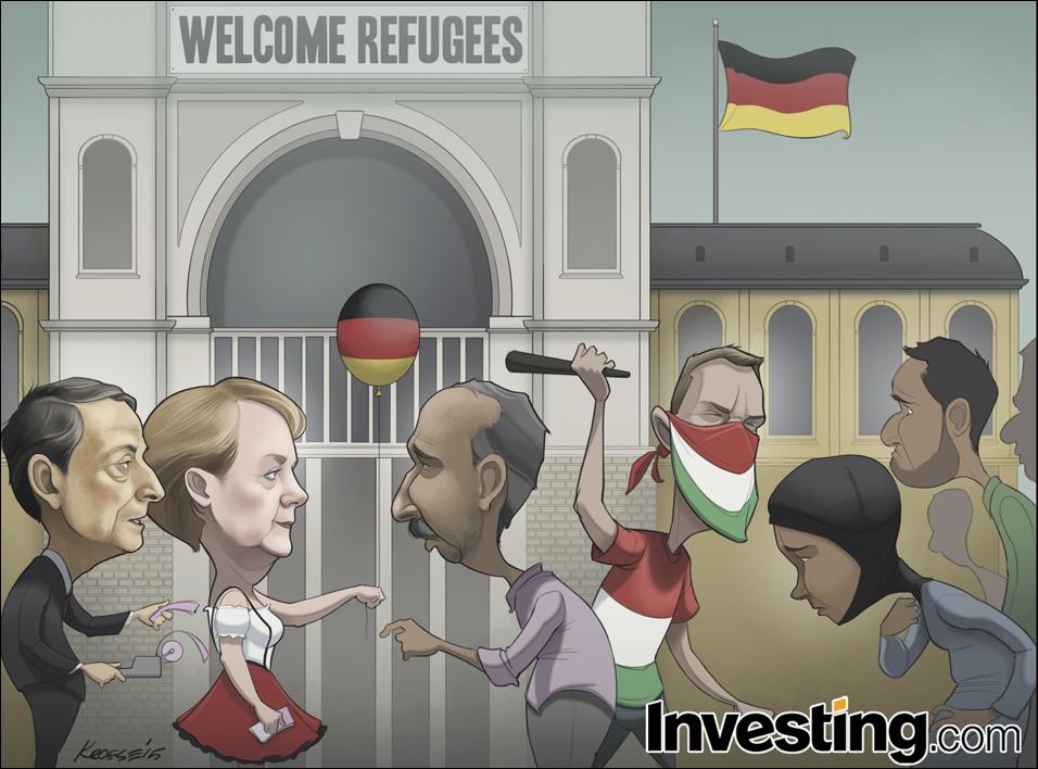 Η ευρωπαϊκή προσφυγική κρίση εντείνεται.