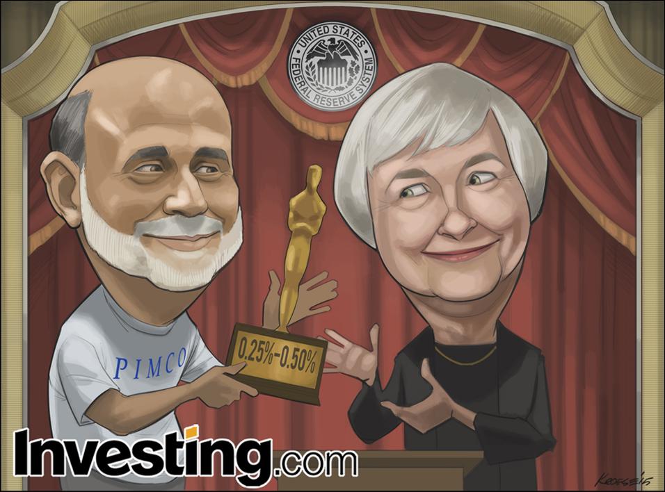 Η Fed επιτέλους αυξάνει τα επιτόκια για πρώτη φορά μετά το 2006.